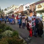 Kids March Through Grass Valley on Donation Day