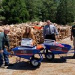 Firewood Equipment Stolen, Found
