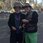 Parade Hit of Mardi Gras Celebration