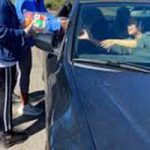 High School District Provides Drive Thru Meals