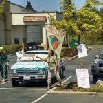 May Day Protest in Grass Valley Hails Workers