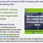County Hopes Testing Leads to Less Restrictions