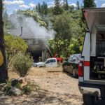 Wolf Mountain Structure Fire Contained Quickly