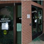 GVPD Vandalized By Solo Suspect