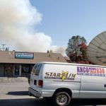 Massive Effort Limits Bennett Fire Damage